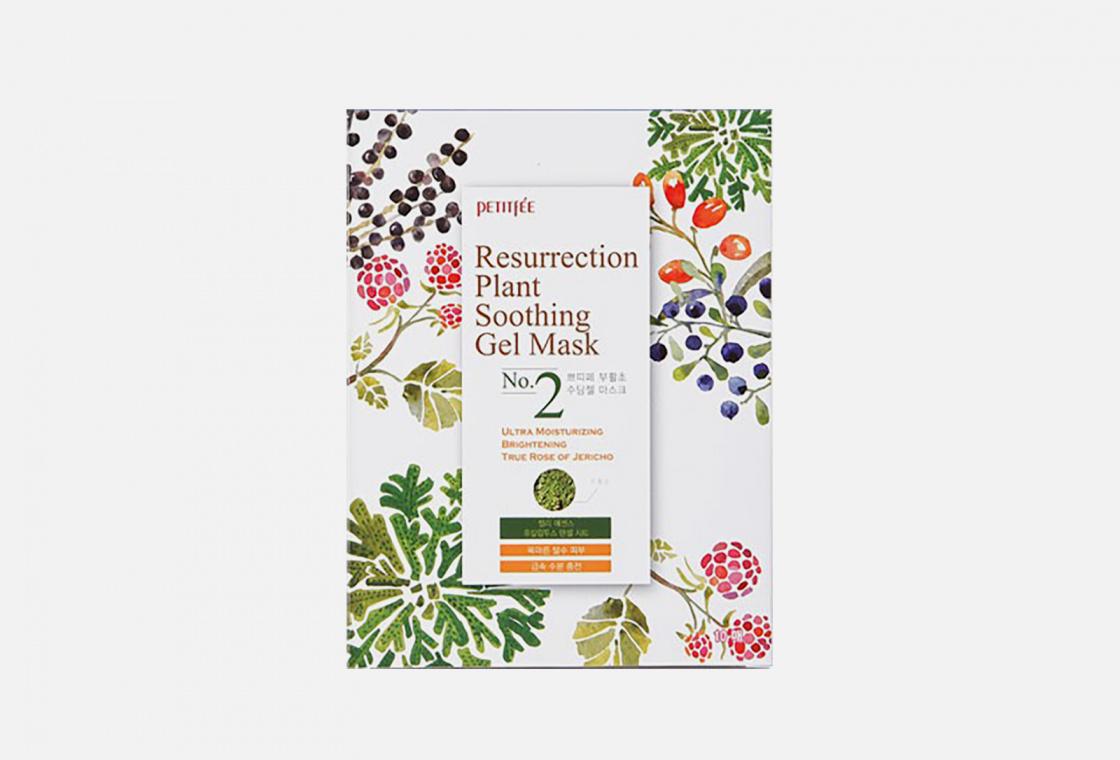 Увлажняющая маска для лица PETITFEE Resurrection Plant Soothing Gel Mask