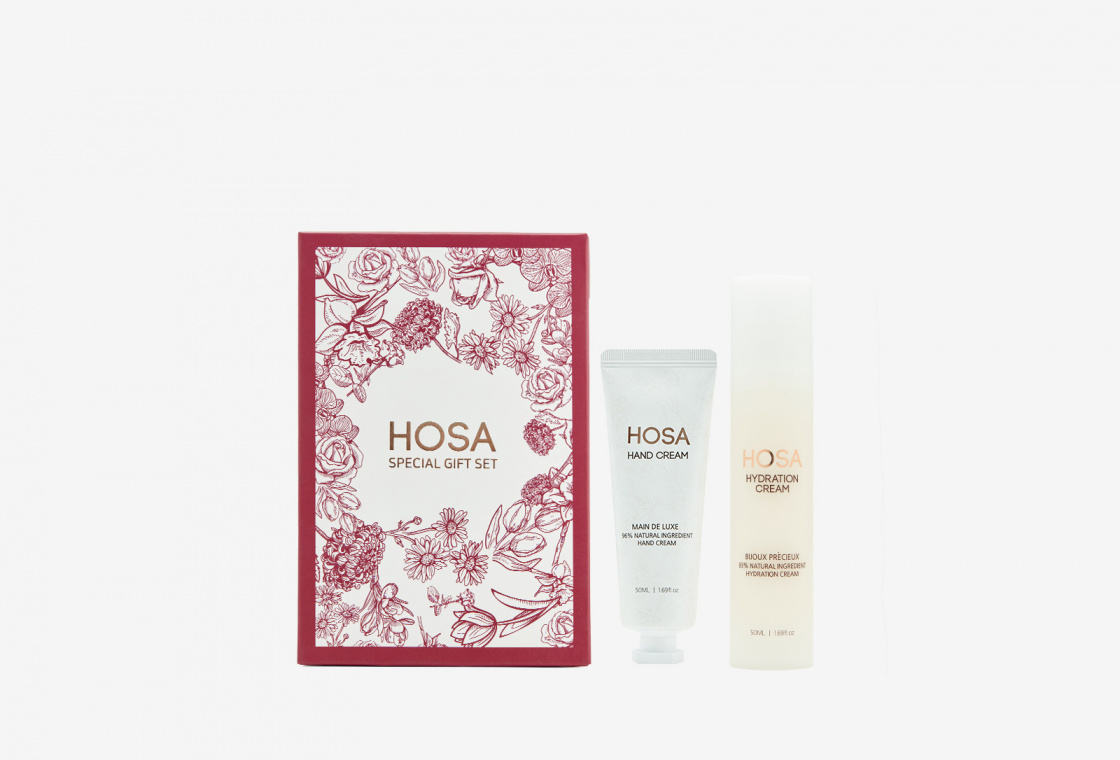 Подарочный набор HOSA Hand Cream + Hydration cream