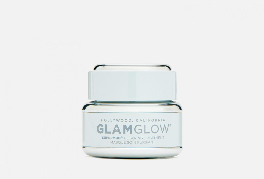 Очищающая маска для лица в дорожном формате GlamGlow Supermud®