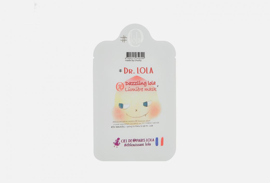 Маска на тканевой основе успокаивающая Dr. Lola Dazzling lola lumiere mask