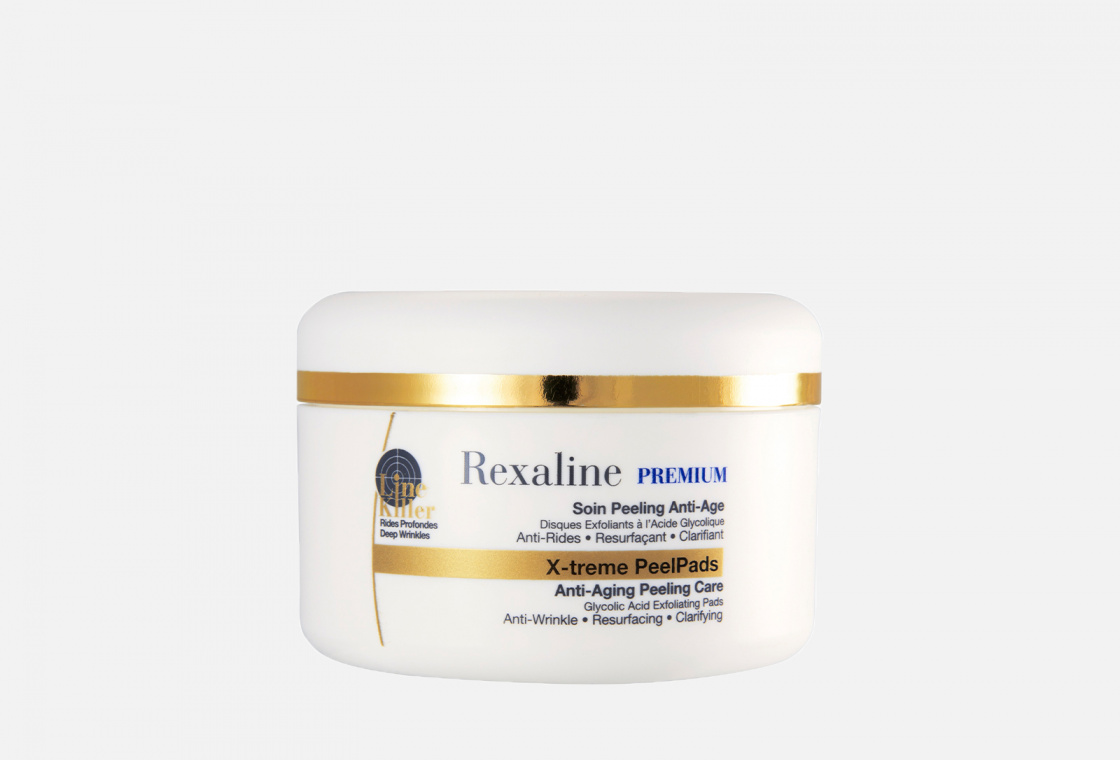 Антивозрастной пилинг 30шт. Rexaline Line Killer X-treme PeelPads