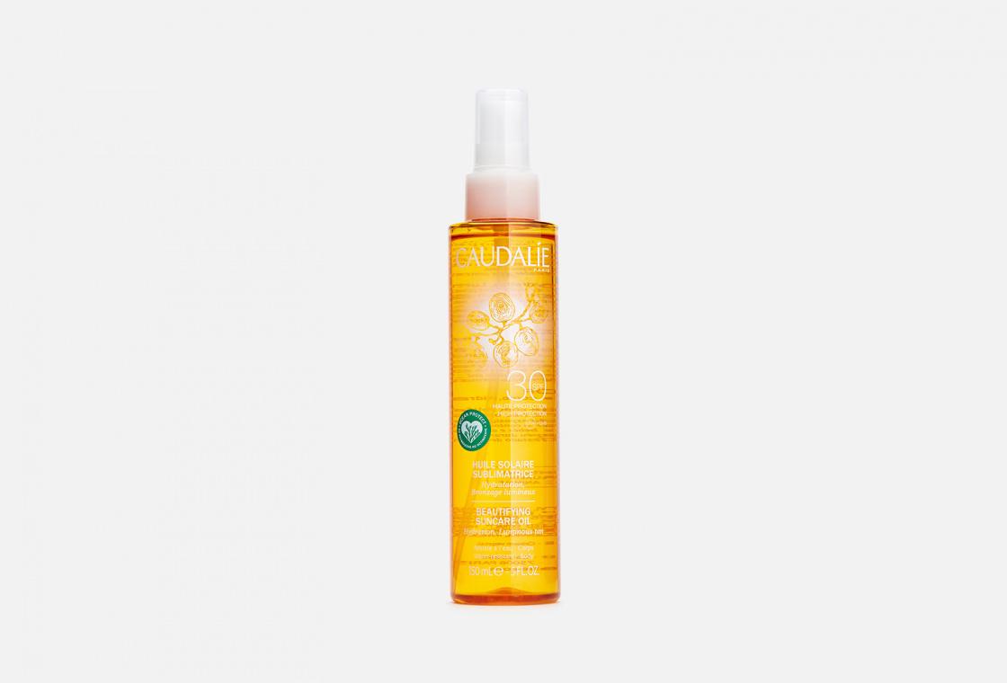 Солнцезащитное масло для совершенного загара SPF 30 Caudalie Solaire Huile Sublimatrice