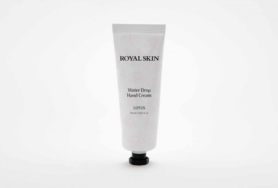 Тающий крем для рук с экстрактом лотоса Royal Skin Water Drop