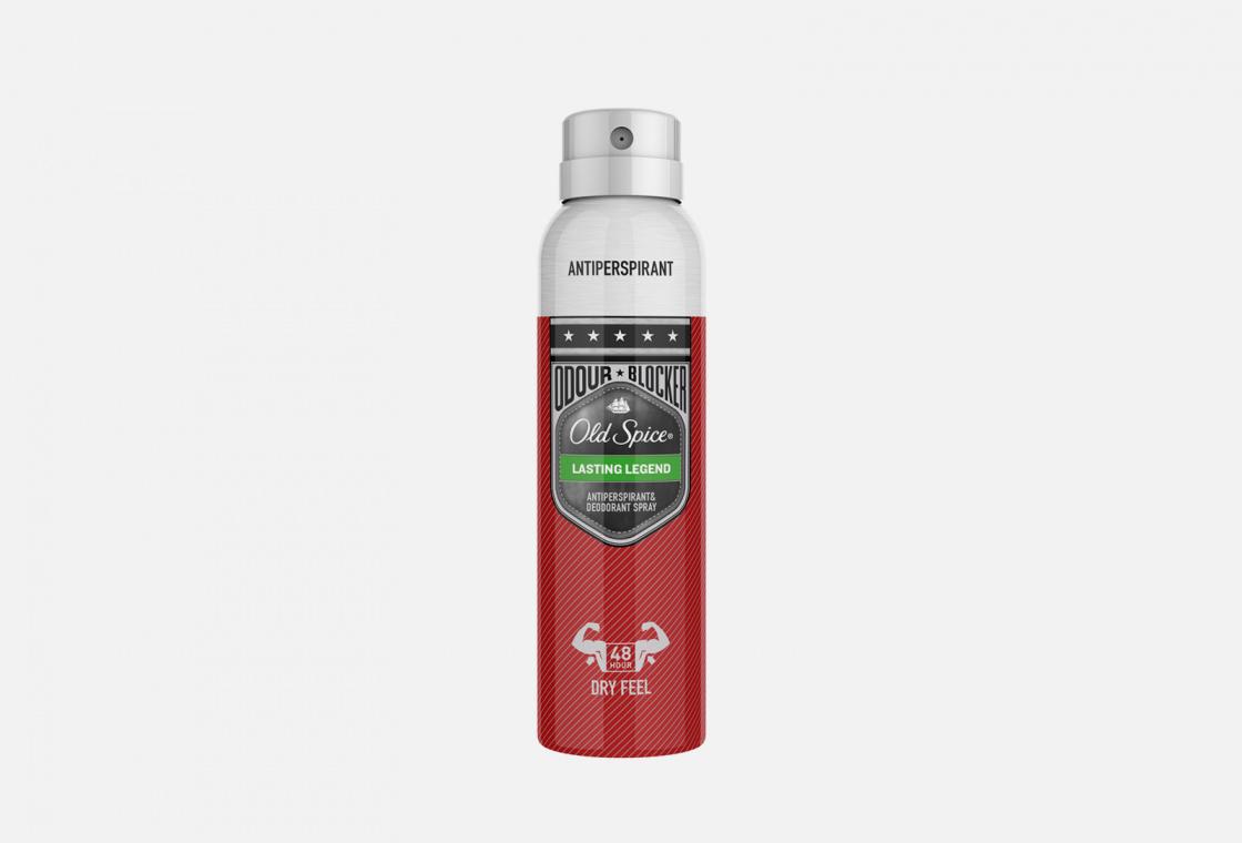 Аэрозольный дезодорант-антиперспирант  Old Spice Lasting Legend