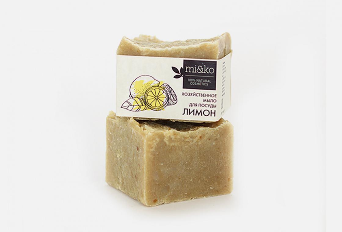 Мыло хозяйственное MiKo Лимон
