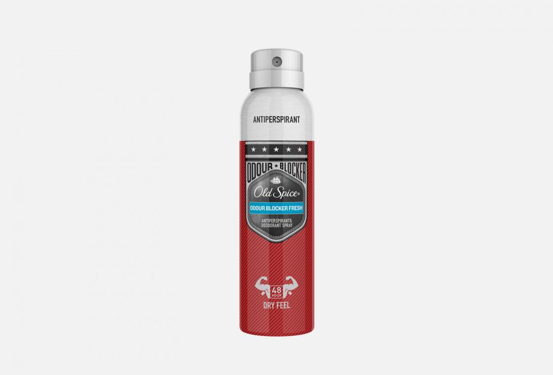Аэрозольный дезодорант-антиперспирант  Old Spice Odour Blocker Fresh