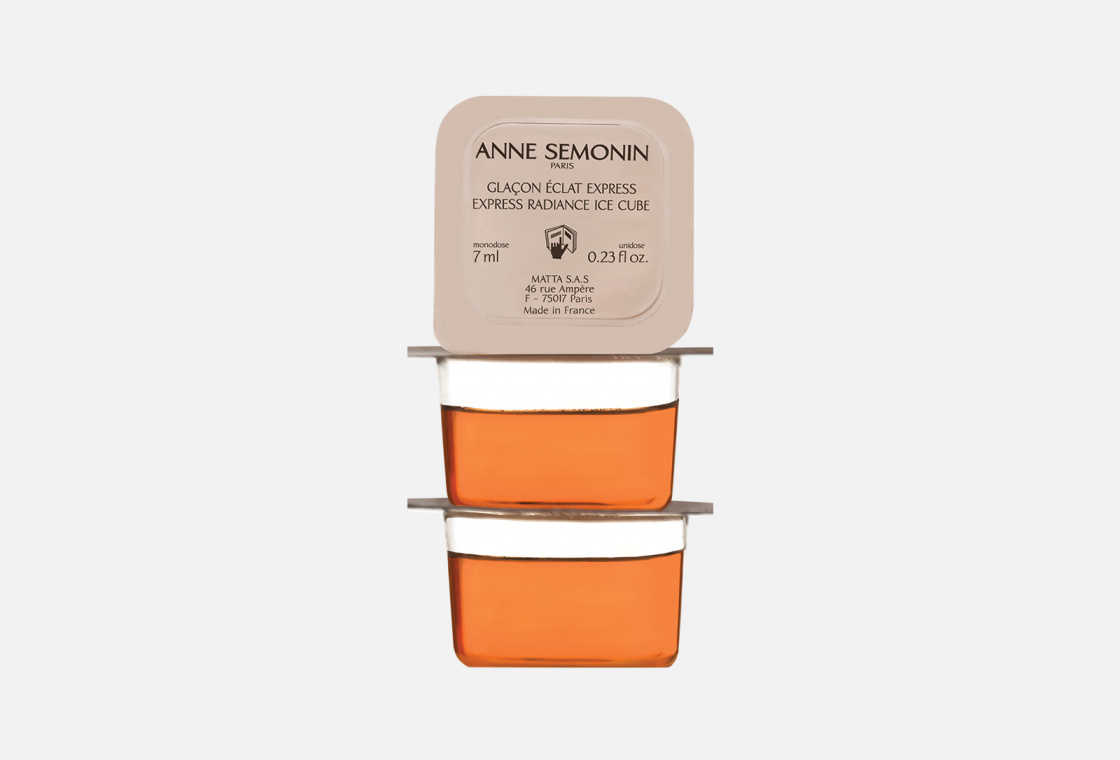 Кубики льда для мгновенного сияния кожи Anne Semonin Express radiance ice cube