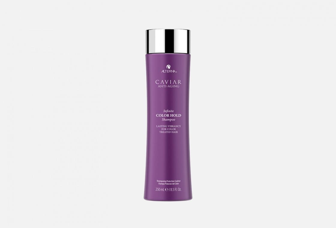 Шампунь-ламинирование для окрашенных волос с комплексом фиксации цвета ALTERNA CAVIAR Anti-Aging Infinite Color Hold