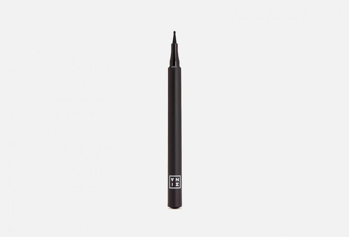 Подводка для глаз с шарообразным аппликатором 3INA The Dot Pen Eyeliner
