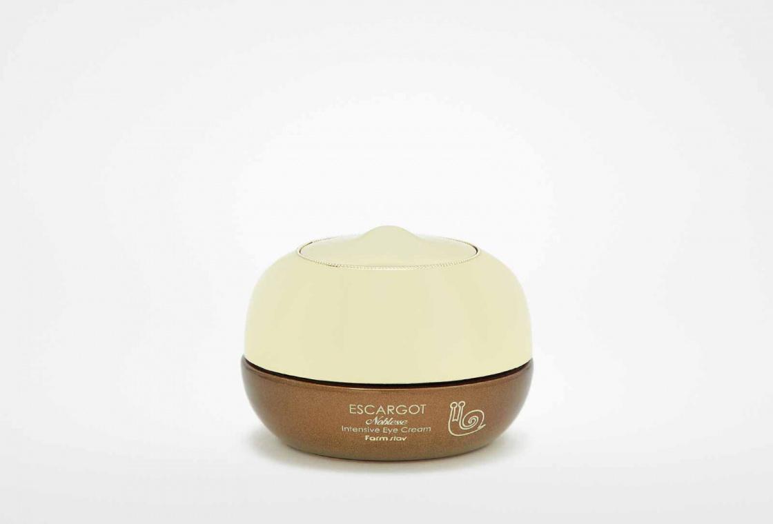 Крем осветляющий и увлажняющий для кожи вокруг глаз Farm Stay Visible difference whitening eye cream