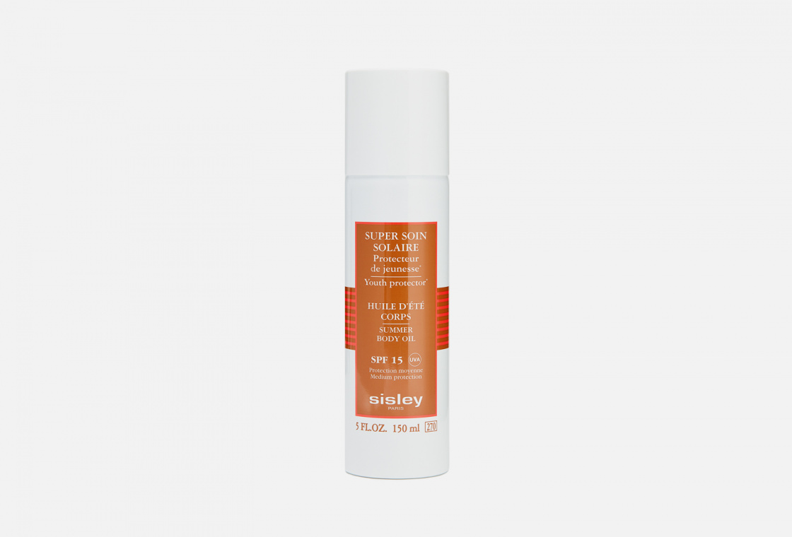Супер масло для тела SPF15 Sisley Super Soin Solaire Summer Body Oil