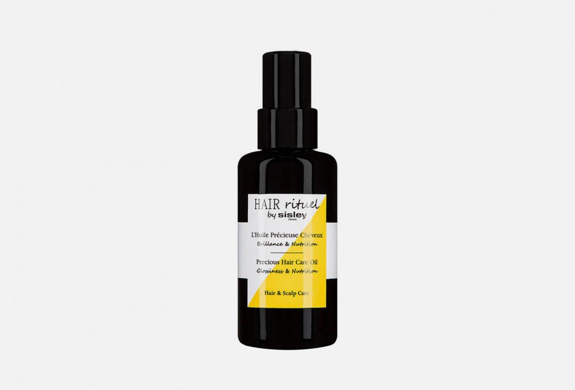 Масло для блеска и питания волос Sisley Precious Hair Care Oil Glossiness and Nutrition