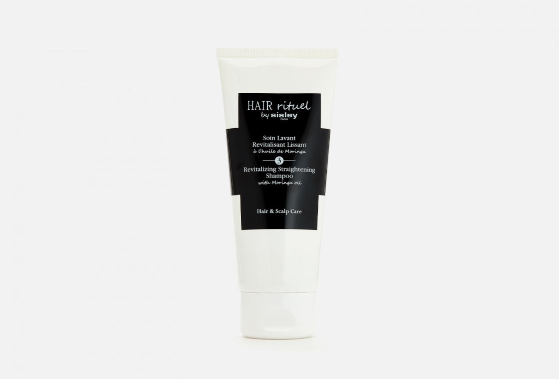 Выпрямляющий шампунь для волос с маслом моринги Sisley Straightening Shampoo with Moringa oil
