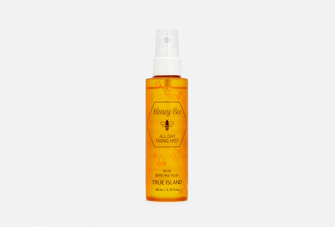 Фиксирующий мист  True Island HONEY BEE ALL DAY FIXING MIST